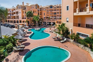 Algarve Long Lets Properties praia da luz resort Contemporary 2-Bedroom Apartment Resort Complex for rent for sale