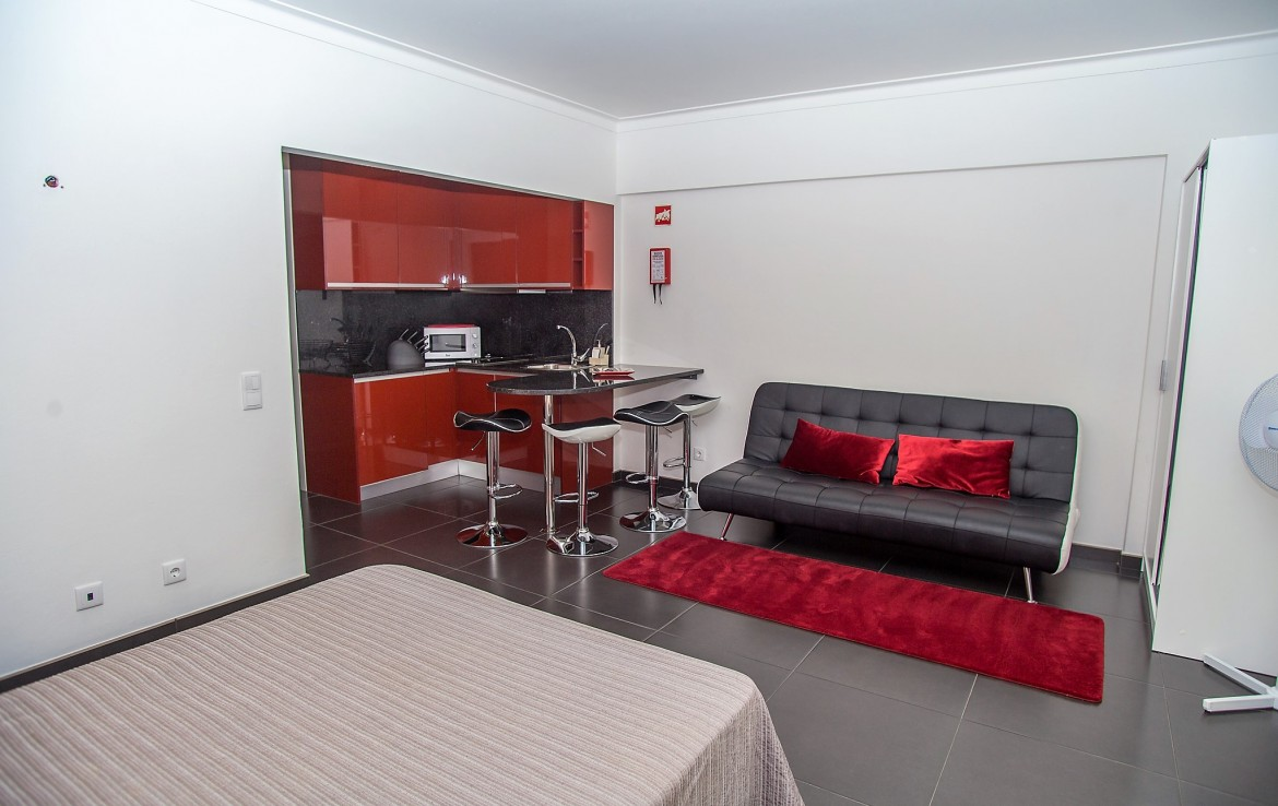 Studio apartment in Praia da Rocha to rent